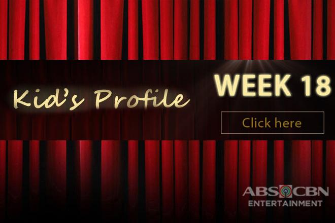 Kid's Profile: WEEK 18