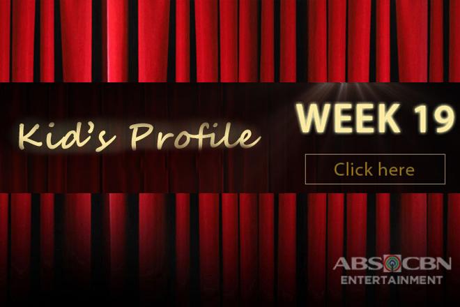 Kid's Profile: WEEK 19