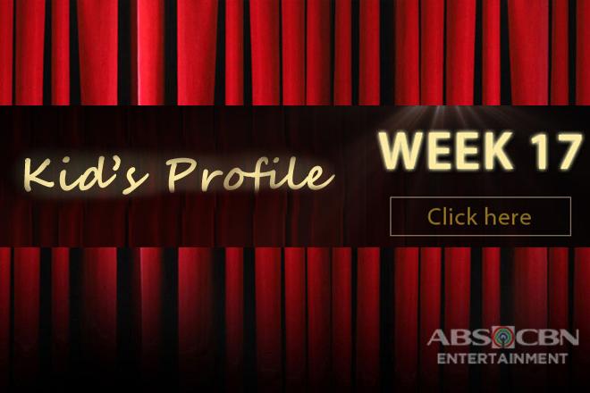 Kid's Profile: WEEK 17